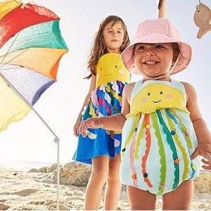 低至4折+额外9折 今夏最低折扣升级:Mini Boden官网 季末大促,超美童装最后低价冲刺