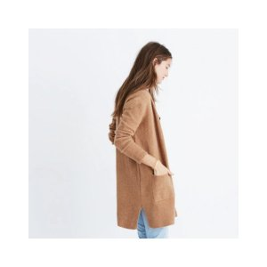 Madewell羊毛针织外套,多色