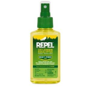 Repel Plant-Based Lemon Eucalyptus Insectlent, Pump Spray, 4-fl oz