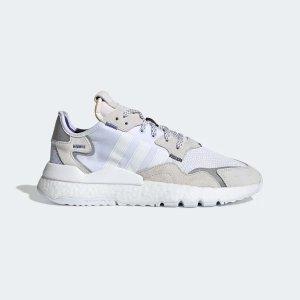 Adidas纯白配色