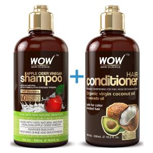 $29.94(Was $34.99)WOW Apple Cider Vinegar Shampoo & Hair Conditioner Set