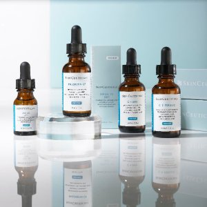 Up to 5 SamplesBuild Your Complimentary Travel Regimen (a $45 value) with any $185 Purchase @ SkinCeuticals