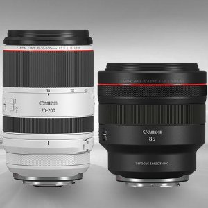 做镜头,还是佳能会佳能发布全新RF镜头,最小70-200mm f/2.8L和 85mm f/1.2柔焦头