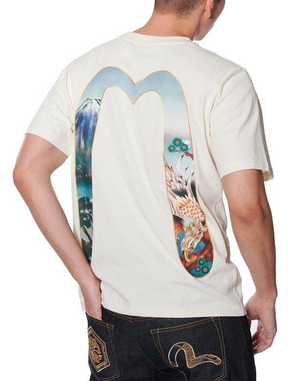 富士山浮世绘大M T恤