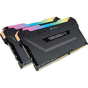 CORSAIR Vengeance RGB PRO 16GB (2x8GB) DDR4 3200MHz C16 Memory