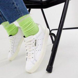 折扣升级:adidas ORIGINALS Sleek 女鞋特卖 肯豆代言