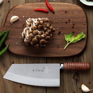 $23.92包邮独家:国民品牌 阳江十八子复合钢中式主厨刀特惠热卖