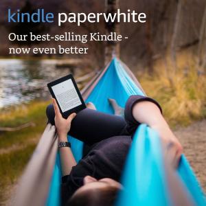 现价£74.99(原价£109.99)Kindle Paperwhite 阅读器