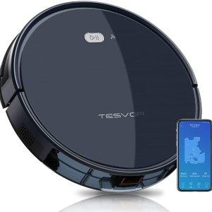折后€144.95 可连智能语音助手Tesvor X500 智能扫地机器人热促 德亚8000+好评
