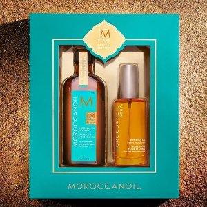 满额送价值$73摩洛哥护发精油2件套11.11独家:Moroccanoil官网 洗发护发产品热卖 平抚毛躁 润养秀发