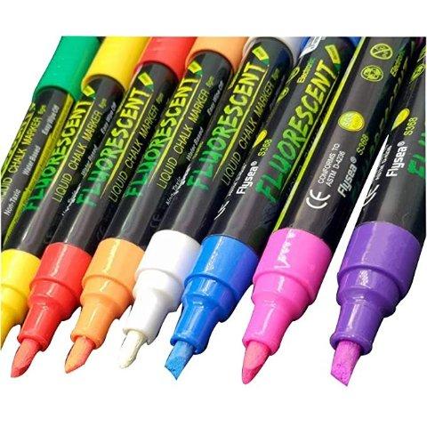 液体彩色笔 8色