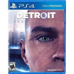 $19.99《底特律:变人》PS4 实体版 互动电影佳作