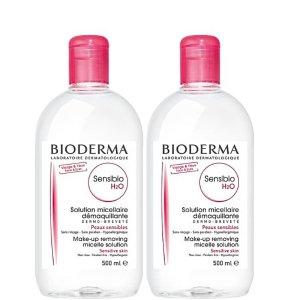 Bioderma平均每瓶500ml只要8.72粉色卸妆水2x500ml