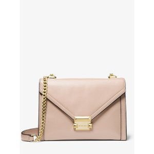 Michael KorsWhitney Large Leather Convertible Shoulder Bag