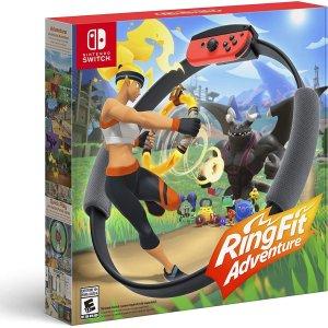 $99.99+免邮 下单锁件补货:《健身环大冒险》Nintendo Switch 实体版 减肥神器