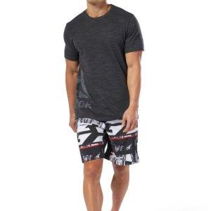 2条仅$40Reebok 男子运动短裤促销 多款式可选