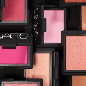 低至7折NARS官网 精选美妆产品热卖 收高潮眼影盘、单色腮红