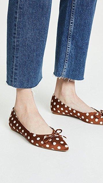Lavinia Point Toe 平底鞋