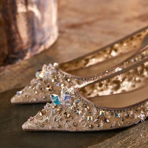 低至3折 £184收高跟鞋René Caovilla 仙女鞋超好折华丽上线 超美银河底鞋等你来