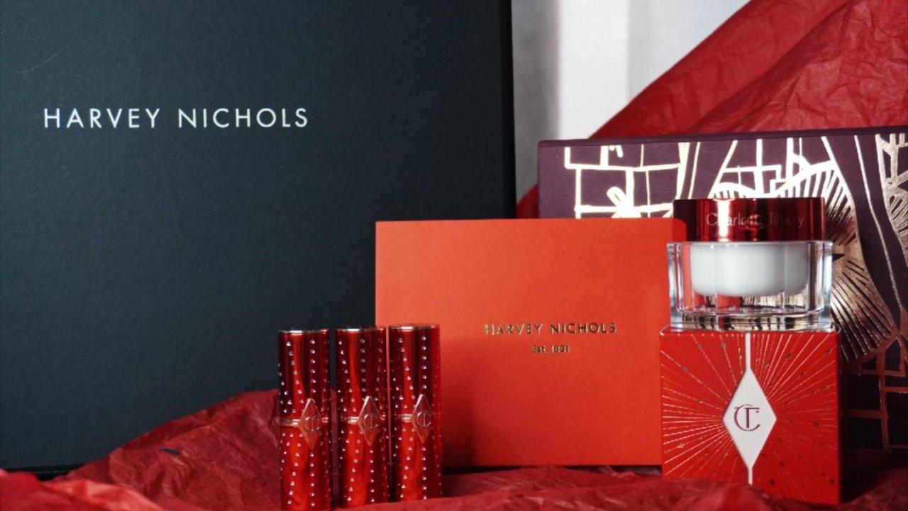 Harvey Nichols购物季   Charlotte Tilbury新年钻光系列开箱测评