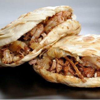 古法秘制 肥而不腻好吃到无法抵抗的秘制肉夹馍 一口气能吃俩