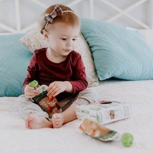 6.5折+额外9.5折Sprout 有机婴儿辅食、零食促销