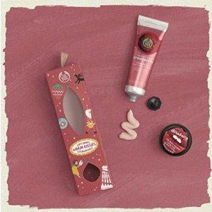 $4.5(原价$9)The Body Shop 唇膏护手霜套装半价热卖