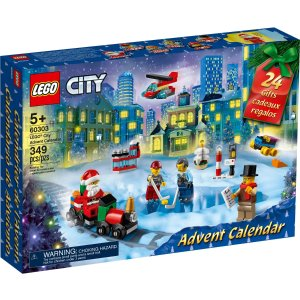 Lego城市组圣诞日历 60303