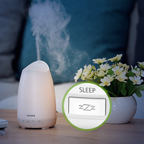 8折起 $28收5合1加湿器Amazon 精选加湿器、精油灯特价 助眠好帮手