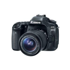 CanonRefurbished EOS 80D EF-S 18-55mm f/3.5-5.6 IS STM Kit