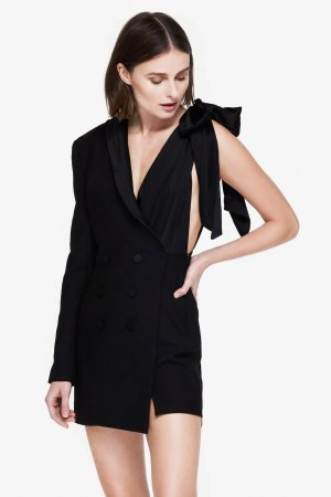 JONATHAN SIMKHAI Luxe Wool Suit Dress | Jonathan Simkhai