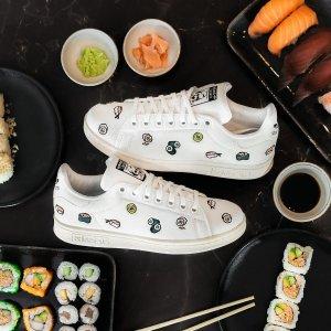 5折起+额外7折 €45收寿司款adidas STAN SMITH 折上折 超多色鞋尾、绿尾冰点价 还有合作款