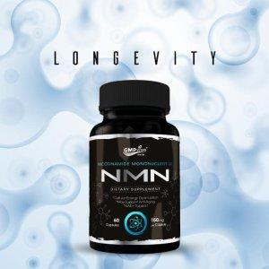 15% OffGMPVitas® NMN Nicotinamide Mononucleotide NAD+ 60 Capsules