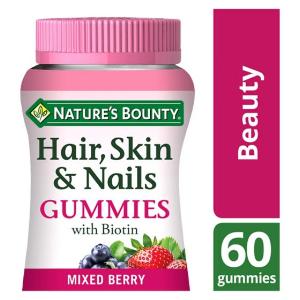 Nature's Bounty复合维生素软糖-护发护指甲