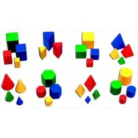 Learning Resources Mini Geosolids - Set Of 32