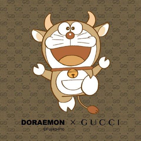 €360收哆啦A梦老花钱包Gucci x Doraemon 哆啦A梦联名热卖 你的小叮当来啦