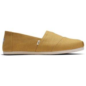 Toms姜黄色渔夫鞋