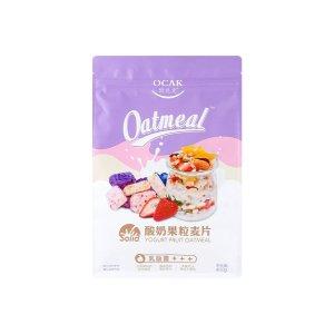 欧扎克 酸奶果粒坚果乳酸菌 干吃零食 水果谷物冲饮代餐燕麦片 400g