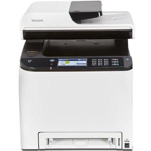 $180Ricoh SP C261SFNw Color Laser Multifunction Printer