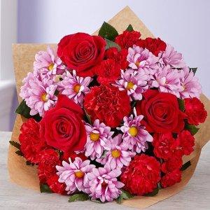 $35起+包邮Florists 鲜插花优惠,可预定母亲节鲜花好礼