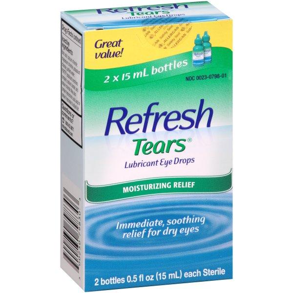 Refresh Tears 滴眼液眼药水 2oz 2瓶入