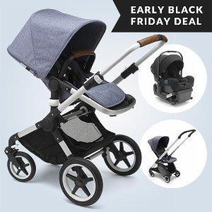 Bugaboo 童车3件套立减$150即将截止:Albee Baby 黑五提前享 Clek 婴儿安全座椅难得8折 Maxi Cosi童车$91白菜价