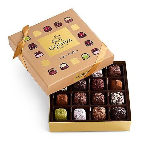 松露巧克力方块礼盒 16颗