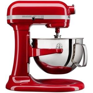 $219 基本与Prime Day价格持平!即将截止:KitchenAid 6夸脱575瓦超大马力专业直立式厨师机 三色可选