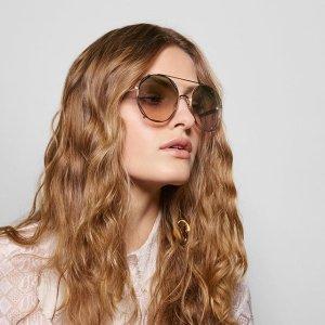 低至3折!€81起就收Chloé 墨镜热促 夏季凹造型拍照必备 超显脸小 多种风格可选