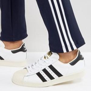 37码超值价¥285手慢无:Adidas Originals Superstar 80s 中性款休闲鞋
