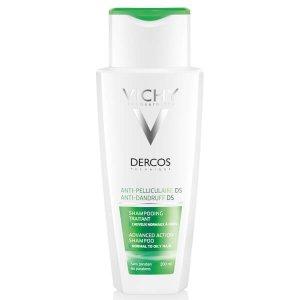Vichy油腻头发专用Dercos抗头皮屑洗发水 200ml