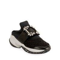 Roger Vivier Viv' Run 钻扣运动鞋