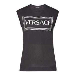 Versace无袖T