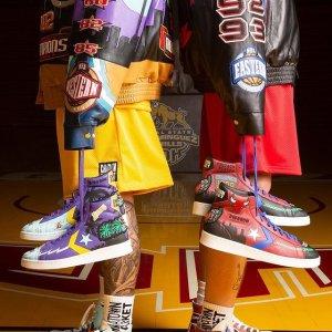 $235起 三款可选上新:Converse x Chinatown Market NBA系列 致敬冠军王朝